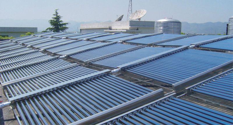 Hệ thống máy nước nóng năng lượng mặt trời Công nghiệp